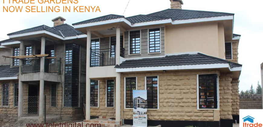 I Trade Garden Executive Maisonettes For Sale In Kenya Ruiru