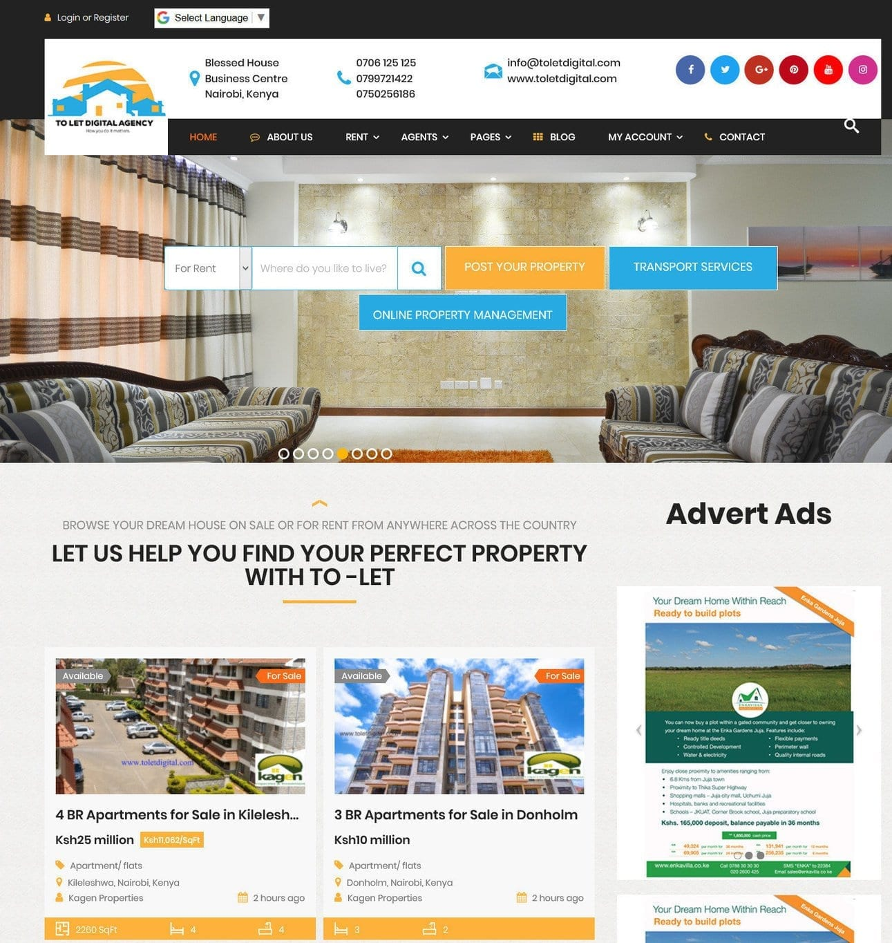 Websites To List Apartments For Rent